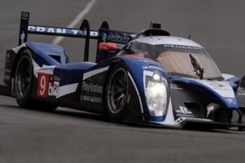Fabian Barthez e equipa de Loeb nas 24 horas de Le Mans