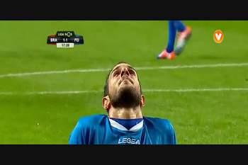 11.ª J. SC Braga - Feirense: 16/17