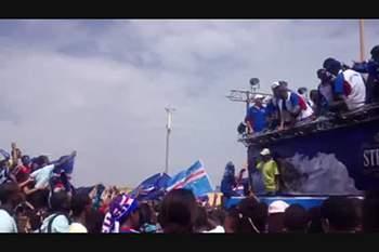 Chegada de Cabo Verde