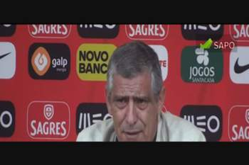 Fernando Santos revela o que quer e espera de CR7