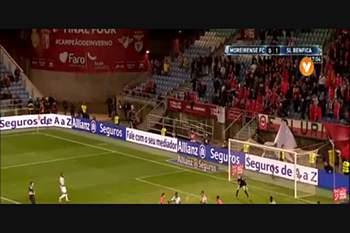 TL /1/2 final): Benfica-Moreirense