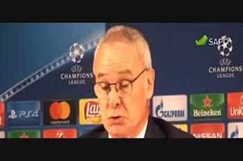 """Claudio Ranieri: """"Podemos perder, mas não assim"""""""