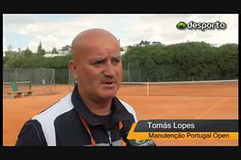 """A """"ciência"""" por detrás da terra batida do Portugal Open"""
