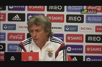 Jorge Jesus põe Braga ao nível da Champions