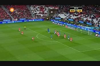 Benfica, Jogada, Garay, 87m