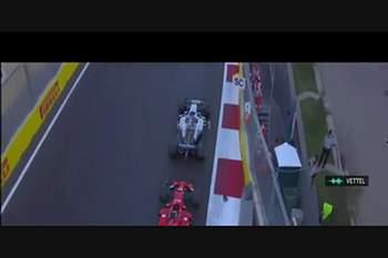 O incidente entre Hamilton e Vettel que vai dar muito que falar