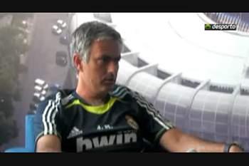 Entrevista de Mourinho