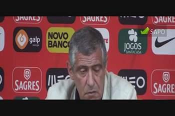 Fernando Santos: Falei com Jardim sobre Moutinho