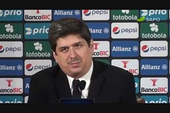 """Lourenço Coelho: """"Queremos seguir em frente"""""""