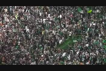 Milhares rugiram em Alvalade com o regresso aos títulos