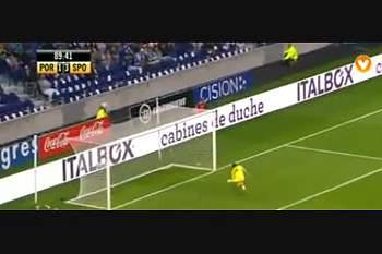 FC Porto - Sporting: Lances do jogo