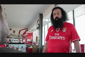 Promo da RTP ao Benfica-Nápoles ´irrita` o Sporting