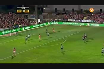 Sporting Covilhã x Benfica: Lances do jogo