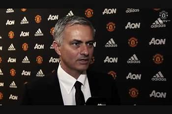 Primeira entrevista de José Mourinho no Manchester United