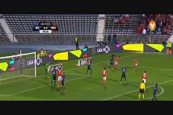 8.ª J: Belenenses-Benfica 16/17