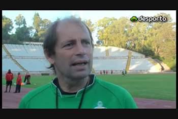 Moçambique: treino no Jamor, em Lisboa