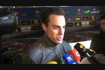 """Benaglio: """"Hoje o Sporting foi melhor"""""""