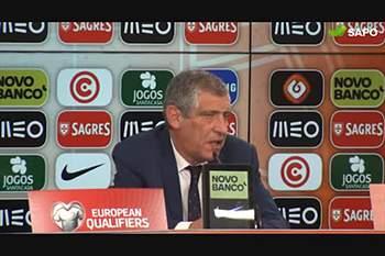 """Fernando Santos: """"Depois do primeiro golo, as coisas ficaram mais fáceis"""""""