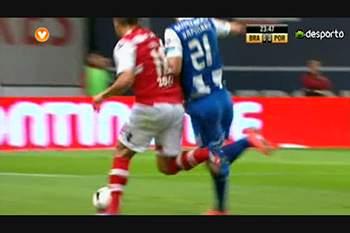 Liga (26ªJ): Polémicas Sp. Braga - FC Porto