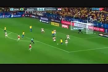 Brasil vence Paraguai e está no Mundial2018