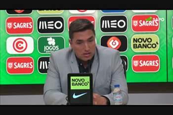 """Rui Jorge: """"O Renato percebe que a realidade dele é a seleção sub-21"""""""