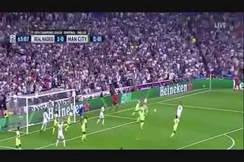 """O """"golo-afundanço"""" de Ronaldo contra o City"""