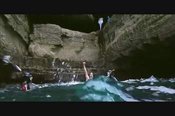 Os melhores momentos do Cliff Diving na Irlanda