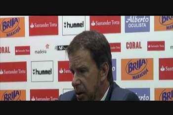 """Manuel Machado: """"Cozinhámos os golos para o Benfica"""""""