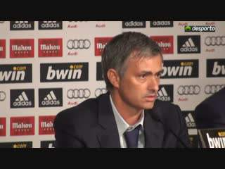Mourinho no Real Madrid