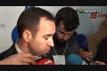 António Salvador «O Gil Vicente procurou a sorte»