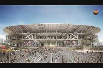 Conheça o futuro estádio do Barcelona