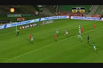 Benfica, Jogada, Saviola, 82m