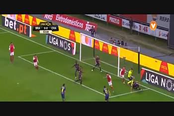 8.ª J: SC Braga - Chaves: 16/17