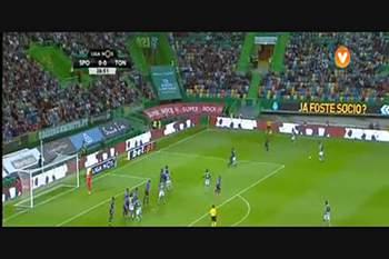 8ª J: Sporting - Tondela 16/17