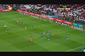 Benfica, Jogada, Rodrigo, 77m