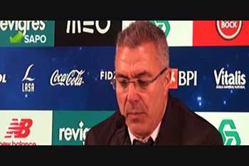"""Augusto Inácio: """"FC Porto foi melhor mas expulsão limitou-nos"""""""