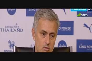 A última conferência de José Mourinho