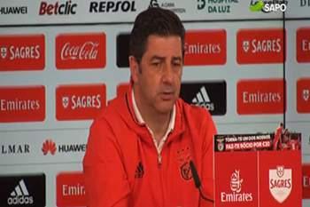 Rui Vitória garante que Jonas vai ser convocado para frente ao Chaves