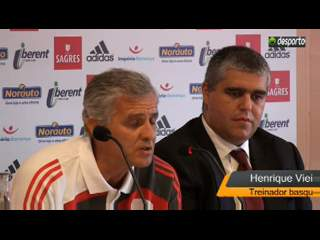 Apresentação basquetebol Benfica