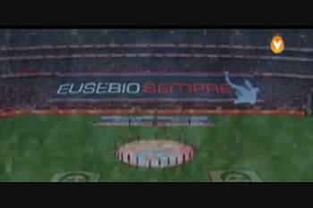 13 golos em 13 anos de Estádio da Luz