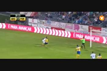 8ª J: Lances do Arouca-FC Porto
