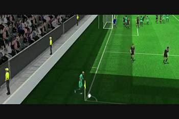 Portugal - Gales: golo de Ronaldo, de cabeça, 50'
