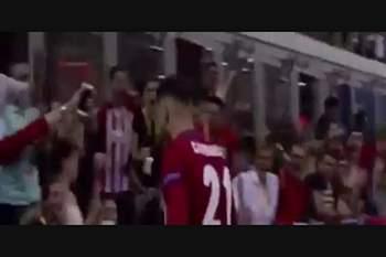 O golo do empate de Ferreira-Carrasco na final da Champions