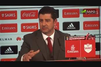 Rui Vitória explica como venceu o Sporting