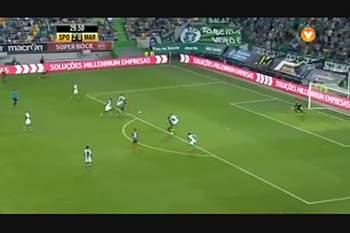 8ª jornada: Lances do Sporting - Marítimo
