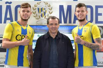 Gémeos brasileiros Kevin e Kainã reforçam União da Madeira