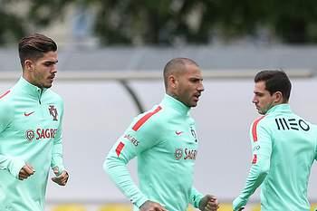 Bernardo Silva falha treino da seleção