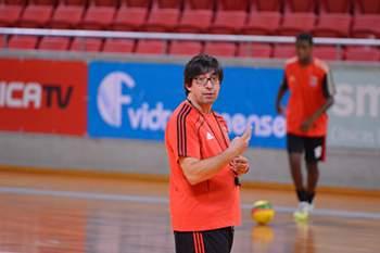 Pedro Nobre, treinador de futsal