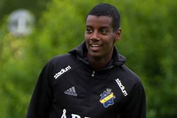 Alexander Isak, futebolista sueco