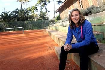 Neuza Silva, atual selecionadora nacional de ténis